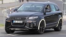 Audi Q7 test mule spy photo