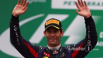 2nd place Mark Webber, Red Bull Racing