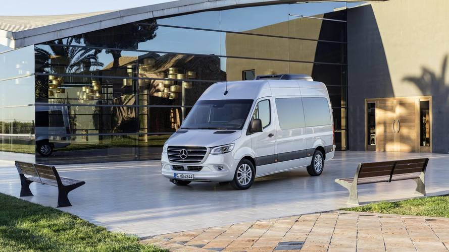 2018 Mercedes Sprinter Debuts With 1,700 Configurations For Any Job