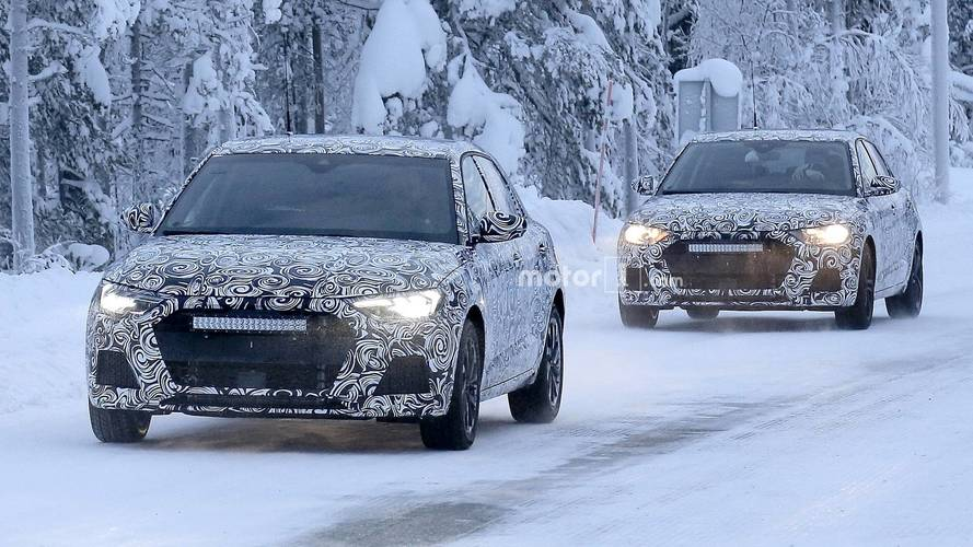 2018 Audi A1 spy images from Scandinavia
