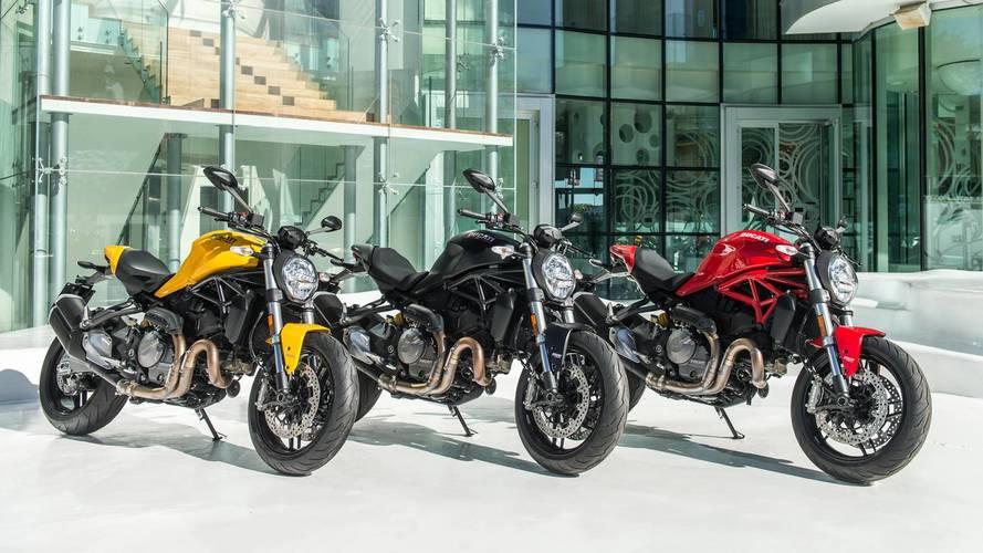 Ducati celebra el 25 aniversario de la Monster