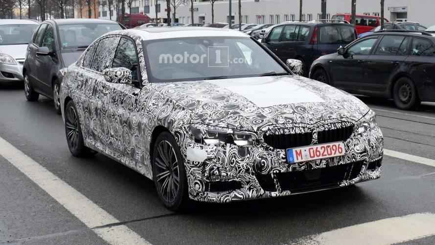 2019 BMW 3 Series M-Sport Spied Showing More Skin