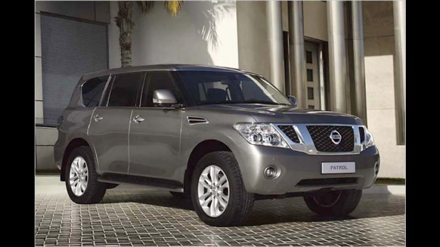 Künftig mehr SUV als Geländewagen: Neuer Nissan Patrol