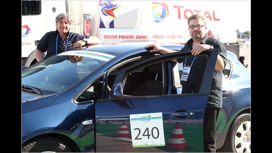 Intercity Rallye Berlin 2011: Spar-Fahrt mit dem Opel Astra