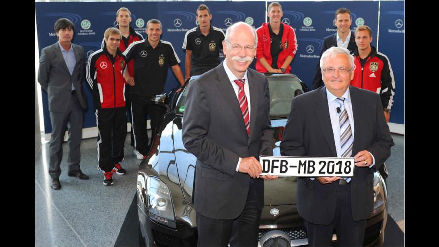 Mercedes bleibt bis 2018 Generalsponsor des DFB