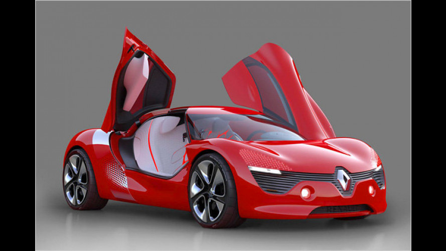 Renault DeZir: Elektrische Emotionen