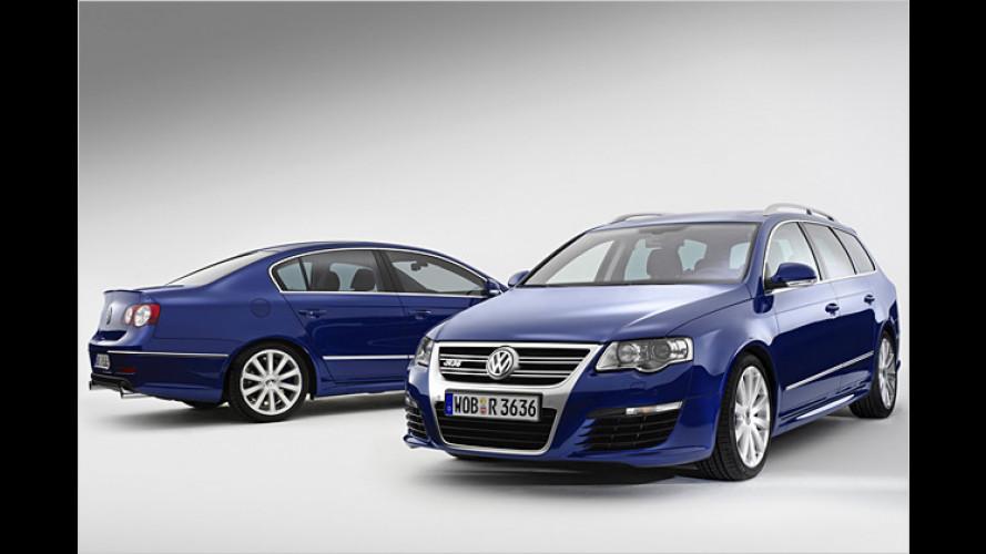 Spätstart mit 300 PS: VW Passat R36 bestellbar