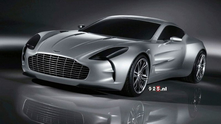 New Aston Martin One-77 Images