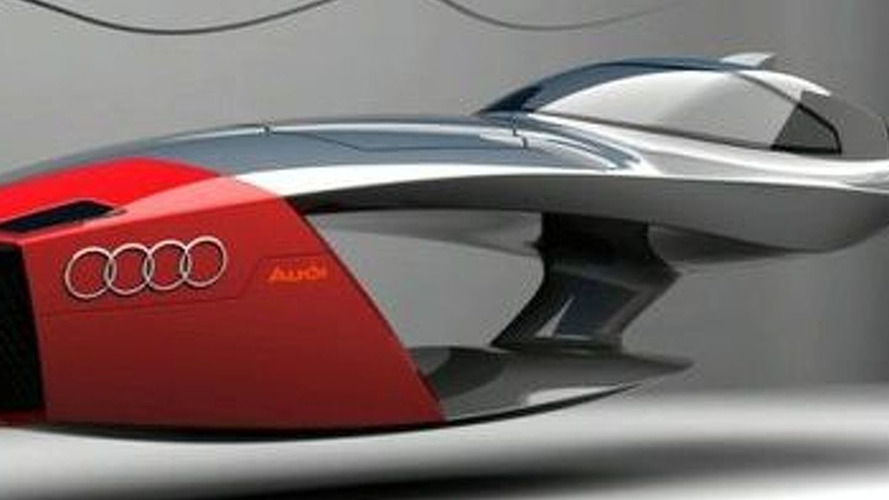Designer Exercise: Audi Calamaro Flying Concept Car