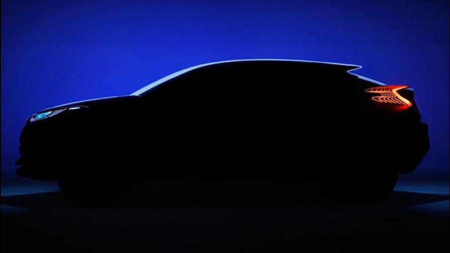 Toyota C-HR concept, prima foto ufficiale