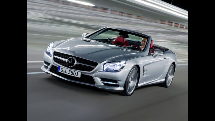 Nuova Mercedes SL, senza veli
