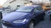 Tesla Model X frost