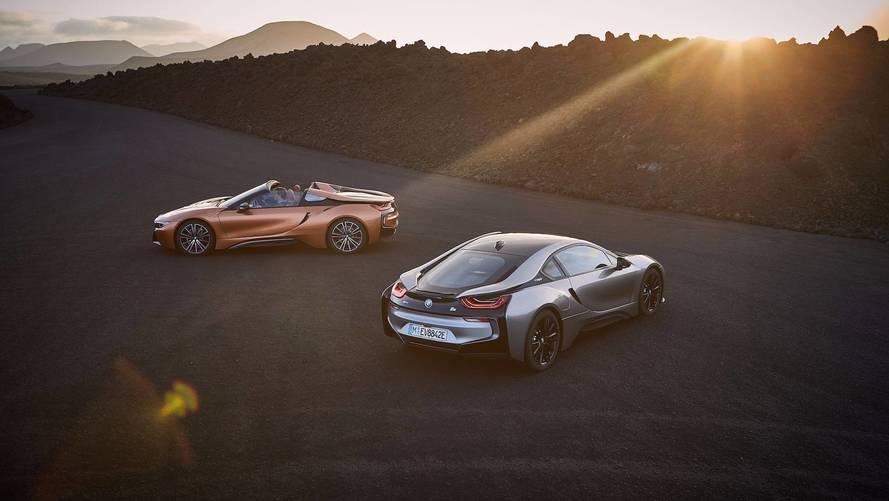 BMW i8 Roadster (2018)
