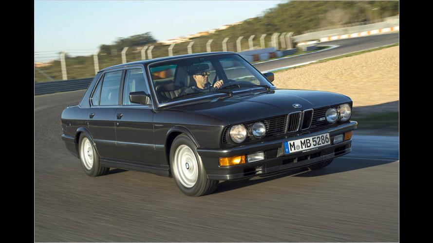 Zeitreise: Unterwegs im ersten BMW M5
