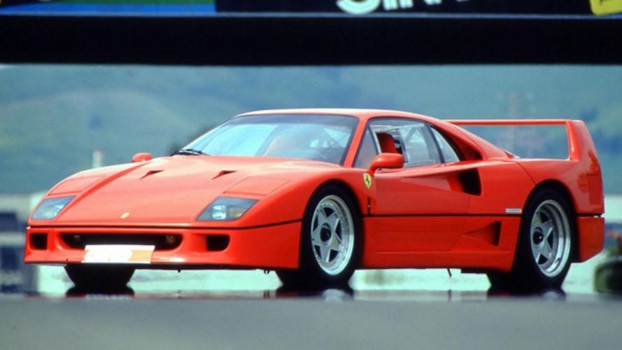 Ferrari F40, è subito leggenda