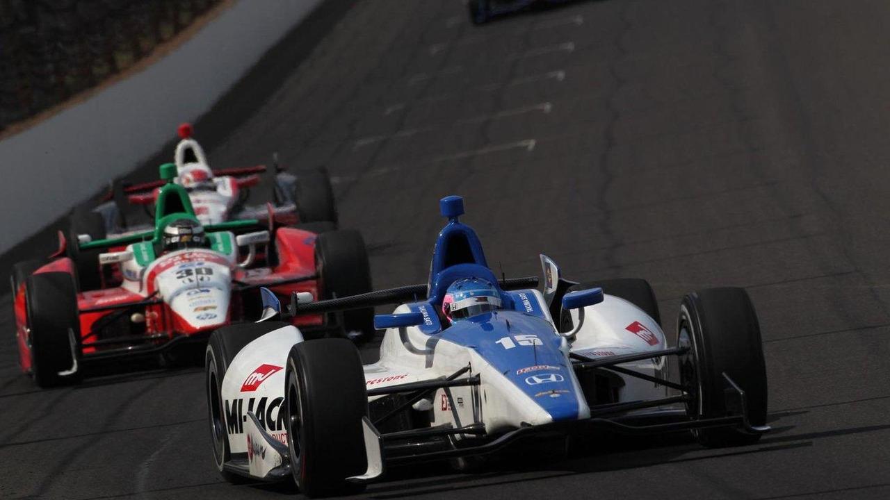 Takuma Sato at Indy 500, Indianapolis, 27.05.2012