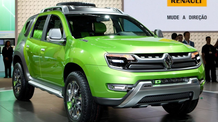 Renault DCross revealed in Sao Paulo - a Dacia Duster-based concept