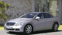 2008 Mercedes C-Class sedan illustration