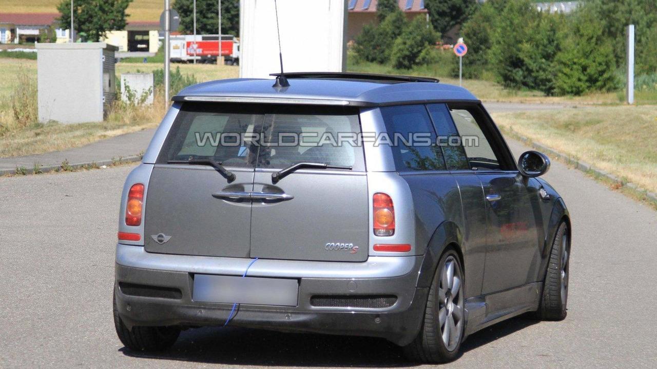 MINI Clubman S hybrid first spy photos 09.07.2010