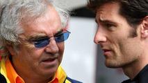 Flavio Briatore & Mark Webber