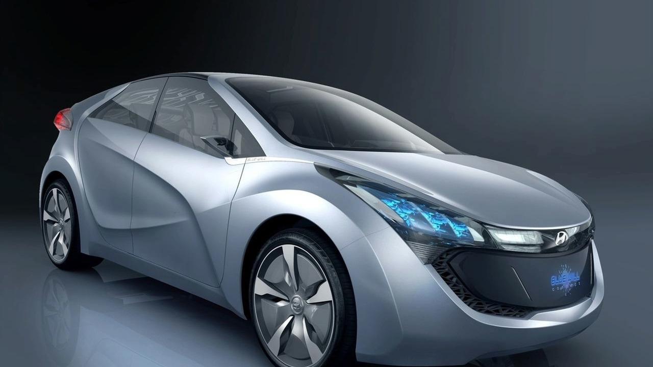 Hyundai BLUE WILL HND-4 Plug-in Hybrid Concept