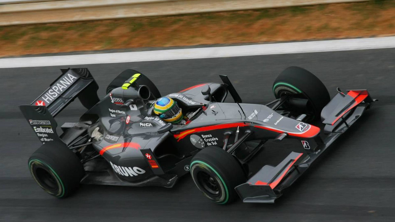 Bruno Senna (BRA), Hispania Racing F1 Team, HRT - Formula 1 World Championship, Rd 17, Korean Grand Prix, 23.10.2010 Yeongam, Korea