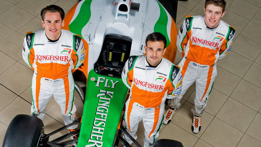 Di Resta to debut, Hulkenberg to drive on Fridays
