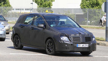 Mercedes Benz B-Class spied testing as a Taxi