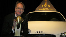 Audi R8 V10 is 2010 World Performance Car of the Year