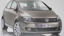 Volkswagen Golf Plus Leaked Brochure Scan