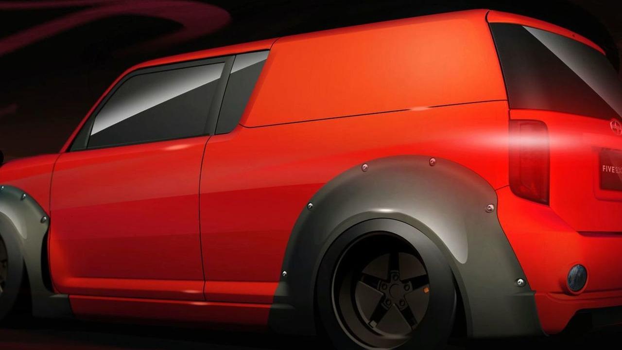 Scion xB DJ 2.0 by Five Axis - SEMA 2009