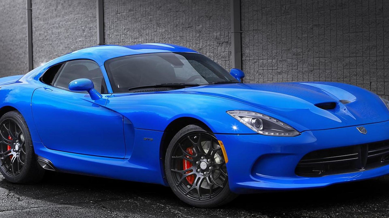 2014 SRT Viper Competition Blue 15.11.2013