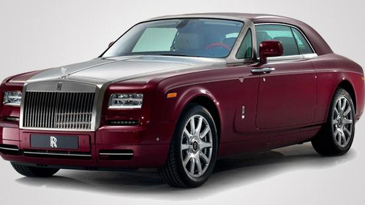 Rolls-Royce Phantom Ruby one-off 22.08.2013