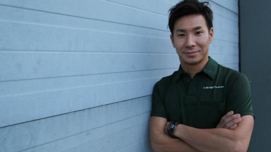 Kobayashi racing for free in F1 return