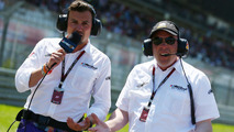 Will Buxton NBS Sports Network TV Presenter with Jason Swales NBC Sports Network on the grid 07.07.2013 German Grand Prix