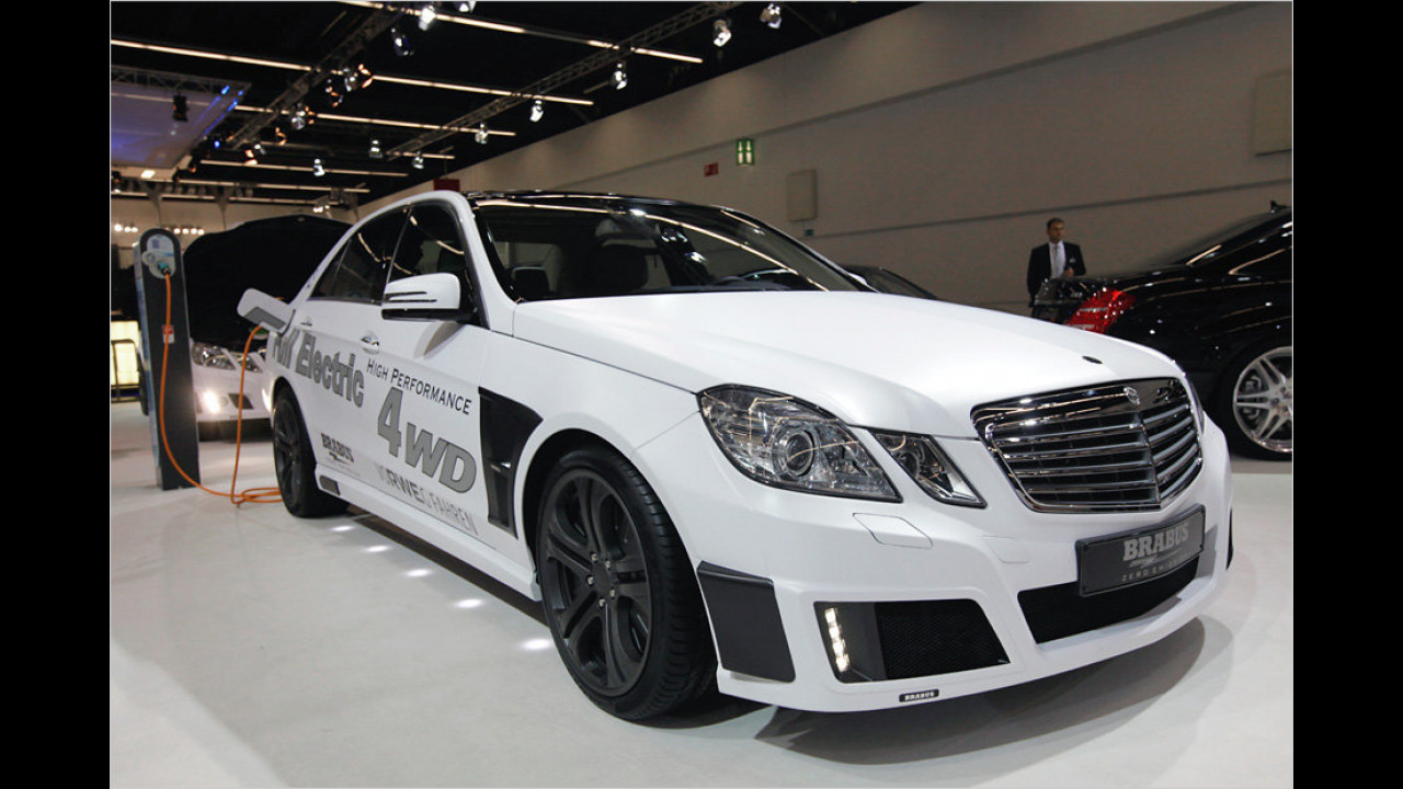 Brabus High Performance 4WD Full electric Concept Car
