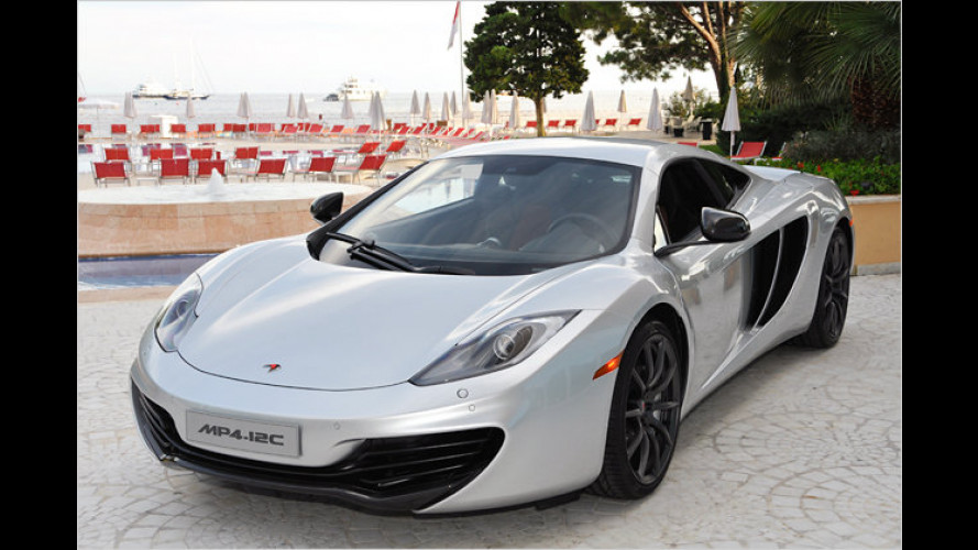 Supersportler MP4-12C: McLaren nennt Preis