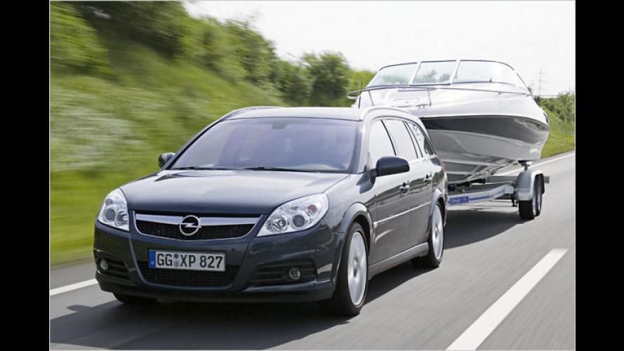 Fahren mit Gespann: Sicher in der Spur bleiben