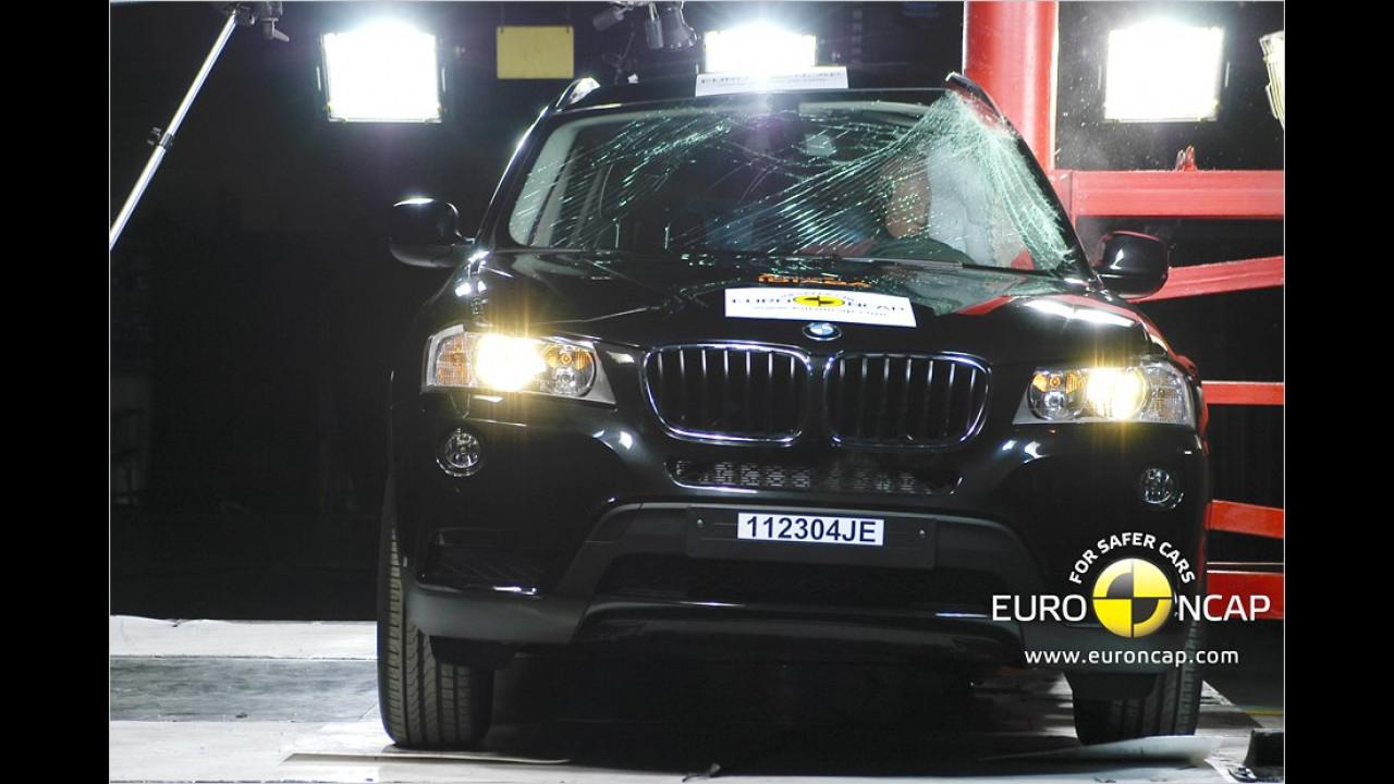 BMW X3 xDrive20d, fünf Sterne