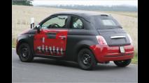 Erwischt: Offener Fiat 500