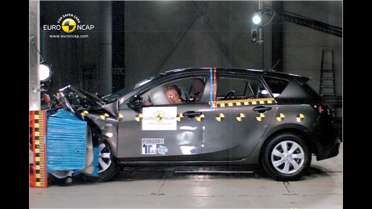 Mazda 3 (5 Sterne, 77 von 100 Punkten)