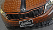 Kia Optima Hybrid Slam Dunk for SEMA - 2.11.2011