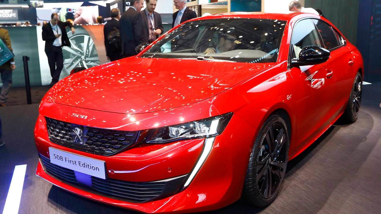 Top (Roland Hildebrandt): Peugeot 508
