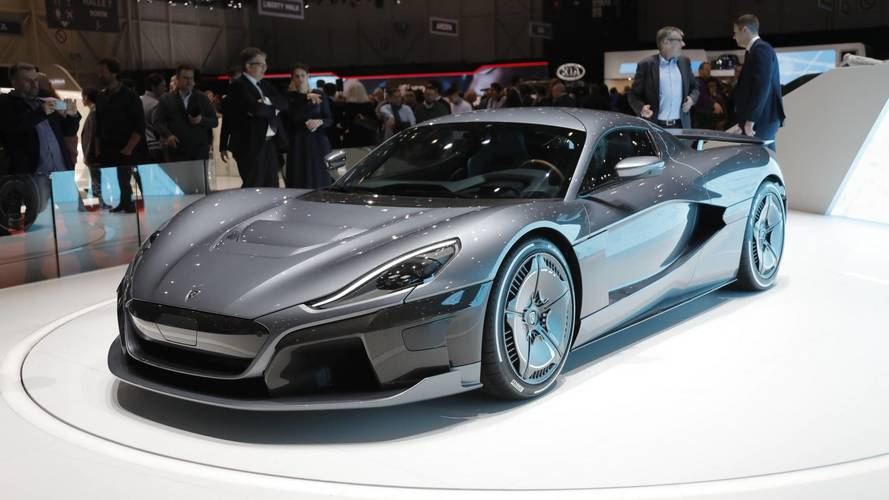 Richard Hammond influenced the design of Rimac's new car