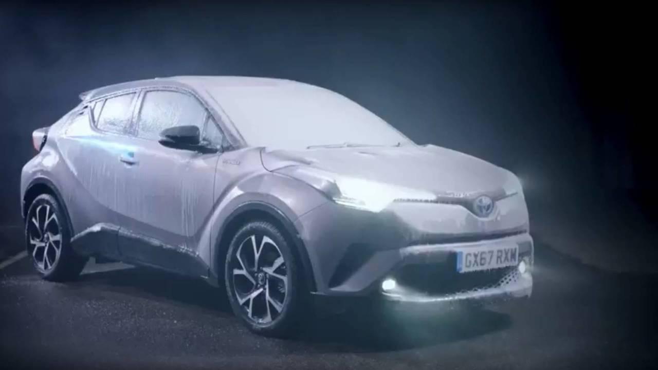 Toyota karácsonyi üdvözlet
