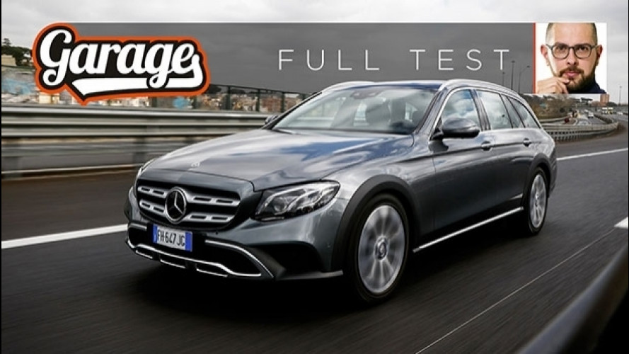 Mercedes Classe E All-Terrain, il test della wagon rinforzata [VIDEO]
