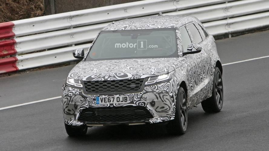 Land Rover Range Rover Velar SVR Spy Photos