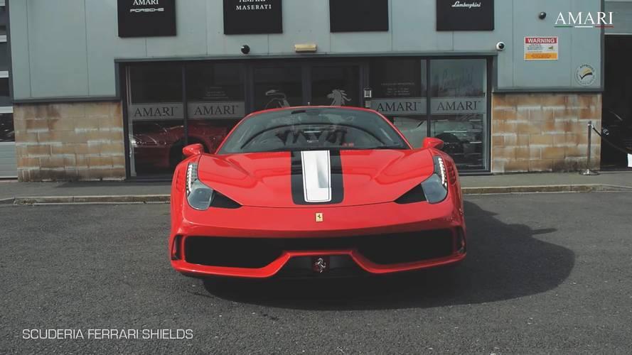 Egymillió dollárnál is többet kérnek ezért a Ferrari 458 Speciale Apertáért