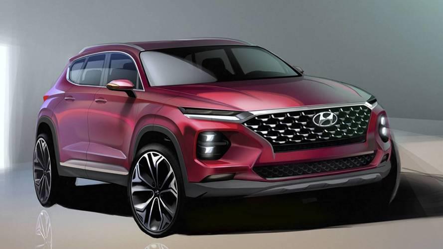 Novo Hyundai Santa Fe 2019 aparece em mais um teaser