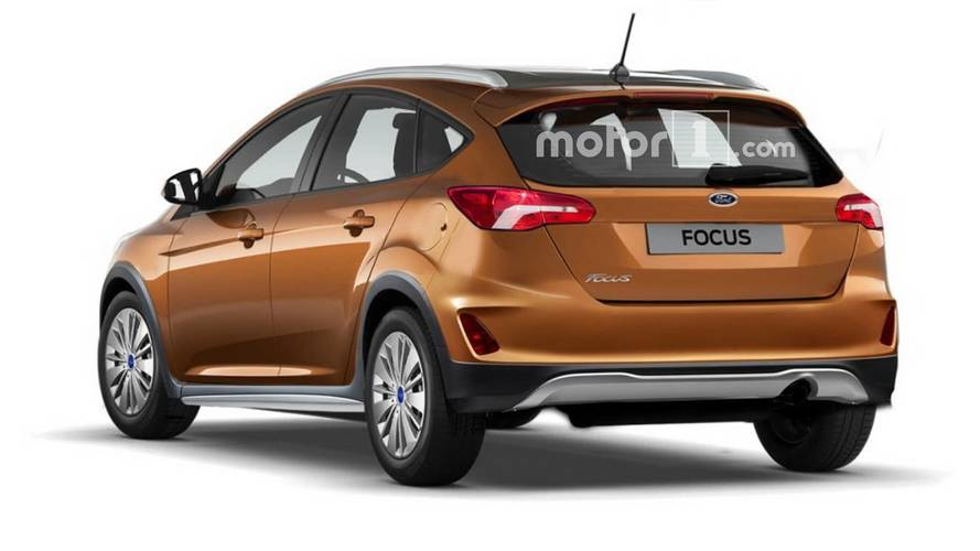 ford focus active rendered with crossover cues. Black Bedroom Furniture Sets. Home Design Ideas